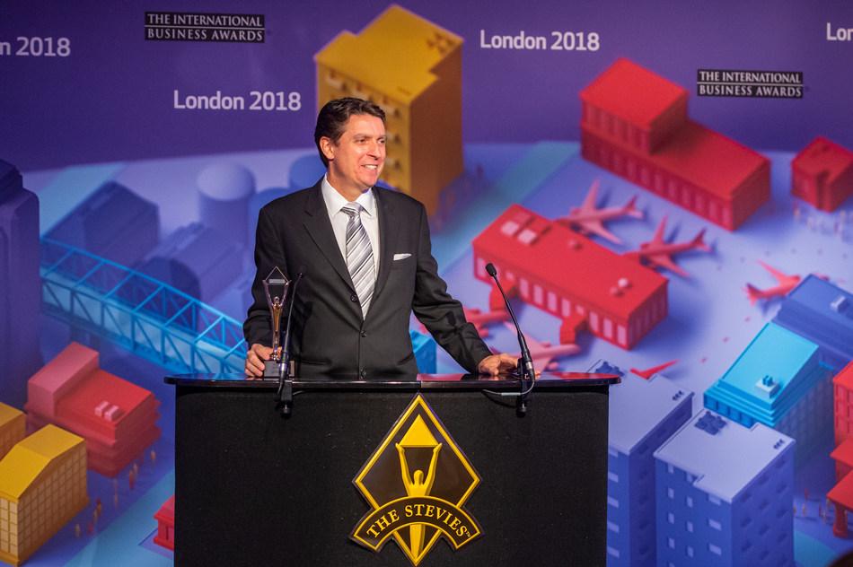 U.S. Entrepreneur Carl Gould Wins Gold Stevie Award For Entrepreneur of The Year