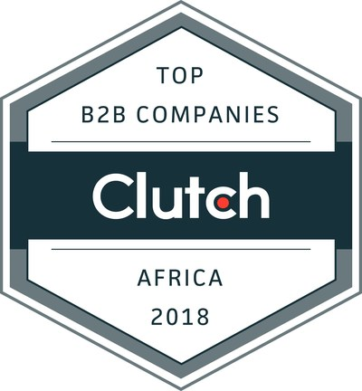 Best B2B companies in Africa announced by Clutch, the leading B2B ratings and reviews platform