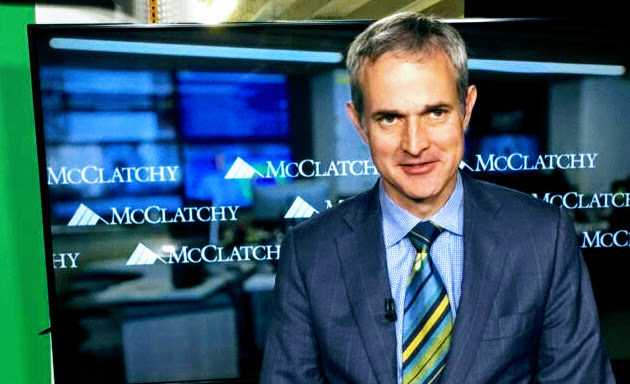 Franco Ordoñez, White House correspondent for McClatchy's Washington bureau, reporting live via ReadyCam