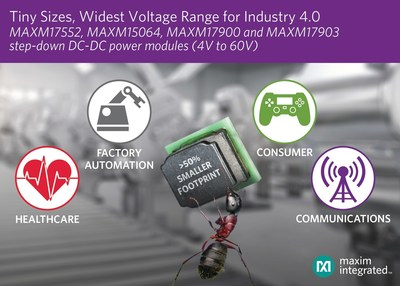 With the addition of its newest family members, Maxim's Himalaya uSLIC portfolio delivers the industry's widest voltage range and smallest footprint for industrial and consumer applications.