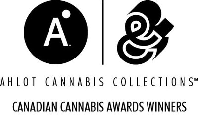 AHLOT Cannabis Collections™: Canadian Cannabis Awards Winners brand and logo (CNW Group/Lift & Co. Corp.)