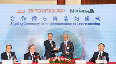 Ping An and Merian Global Investors Sign Historic Strategic Agreement