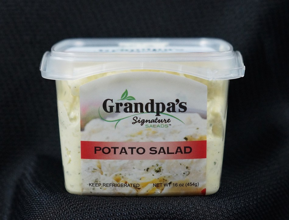 Garden-Fresh Foods announced the expansion of its popular Grandpa's Signature Salads line, now offering premium items in 16-ounce grab-and-go packaging.