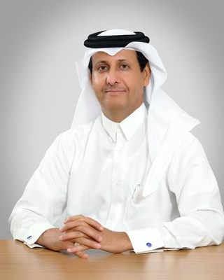 Chairman H.E Sheikh Hamad Bin Faysal Al Thani (l) (PRNewsfoto/Al Khalij Commercial Bank)