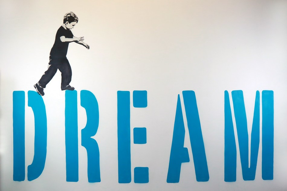 Dream by Icy & Sot. Amsterdam's Moco Museum brings art to life with augmented reality app. (PRNewsfoto/Moco Museum)
