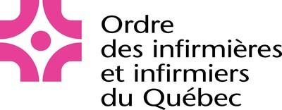Logo :  l'Ordre des infirmières et infirmiers du Québec (Groupe CNW/Ordre des infirmières et infirmiers du Québec)