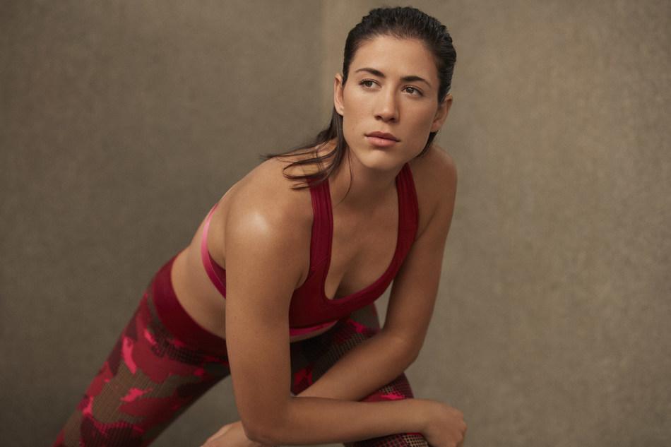 Garbiñe Muguruza in adidas Statement Collection