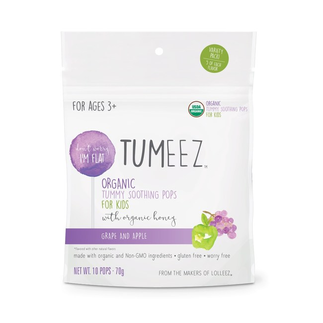 Tumeez, Organic Tummy Soothing Lollipops