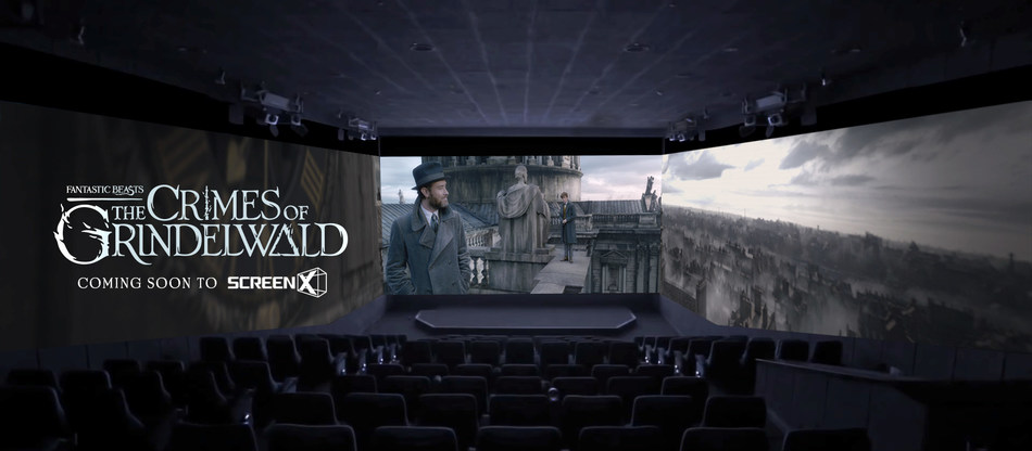 Fantastic Beasts: The Crimes of Grindelwald in ScreenX