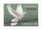 Stamp marks 100th anniversary of Armistice of 1918 (CNW Group/Canada Post)