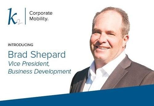 Introducing Brad Shepard, VP Business Development K2 Americas (PRNewsfoto/K2 Corporate Mobility)
