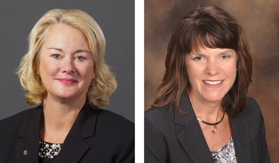 Judith M. Docter (left) and Angie M. DeWitt