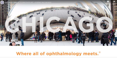 Thousands of eye physicians and surgeons this week will convene in Chicago to attend AAO 2018, the American Academy of Ophthalmology's 122nd annual meeting.