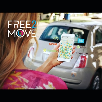 """Starting today, people in Washington D.C. can access a fleet of rental cars, bikes and scooters using the Free2Move smartphone app – a mobility services solution from Groupe PSA North America. Car rentals include parking, gas and insurance (for those over 21) with no late fees or """"per trip"""" charges."""