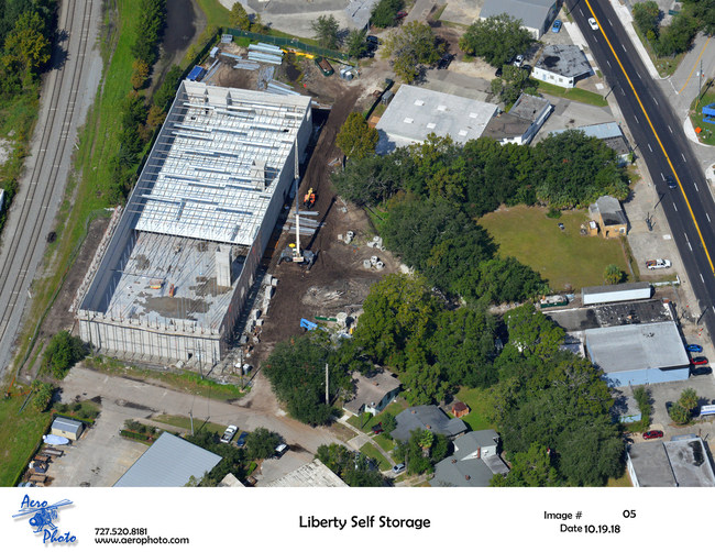 Aerial image of new storage facility coming to Jacksonville, FL