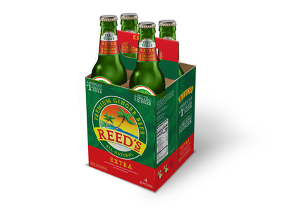 Newly Redesigned Reed's Ginger Beer 4-Pack