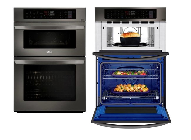 Lg Delivers Faster Cooking Convenience With First Ever Smart Combination Double Wall Ovens