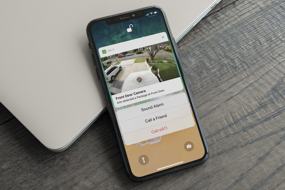 Arlo Smart Package Detection