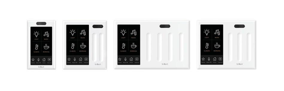 Compatible with light switch panels with one, two, three, and four switches