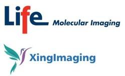 Company logos Life Molecular Imaging and XingImaging