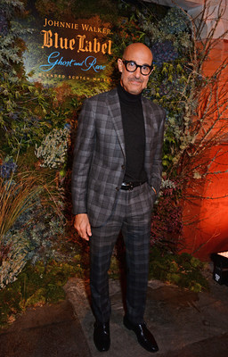 Stanley Tucci attends the unveiling of Johnnie Walker Blue Label Ghost and Rare Port Ellen at The Welsh Chapel on October 24, 2018 in London. Pic Credit: Dave Benett