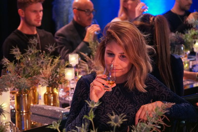Guests attend the unveiling of Johnnie Walker Blue Label Ghost and Rare Port Ellen at The Welsh Chapel on October 24, 2018 in London, England. Pic Credit: Hatch Communications
