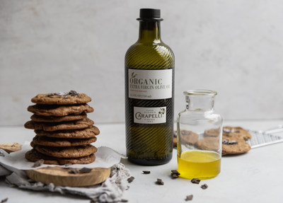 Chocolate Olive Oil Cookies featuring Carapelli Organic Extra Virgin Olive Oil by Cosette's Kitchen