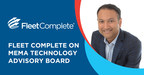Fleet Complete's Chief Strategy Officer, Sandeep Kar, joins the MEMA advisory board, representing the telematics sector. (CNW Group/Fleet Complete)