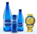 L'eau de source pétillante Montellier, un produit 100% québécois, a remporté la plus haute distinction de qualité octroyée par l'institut Monde Sélection située à Bruxelles. (Groupe CNW/Alex Coulombe ltée)