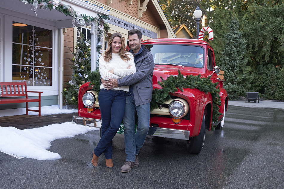 Jill Wagner And Mark Deklin Star In 'Christmas in Evergreen: Letters to Santa,' A New, Original Movie Premiering November 18, On Hallmark Channel. Crown Media Family Networks Partners with Parent Company Hallmark Cards To Bring Town of Evergreen to Life.