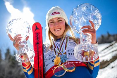 World champion alpine skier Mikaela Shiffrin has been a Barilla ambassador since 2012. Courtesy of GEPA