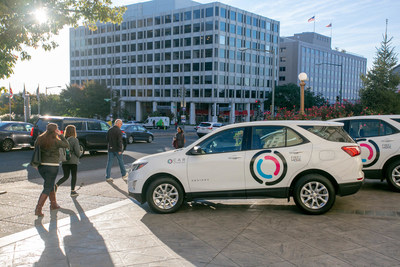 At an event at The Churchill Hotel, Groupe PSA North America announced that starting today Free2Move users can access a fleet of 600 vehicles available on-demand in the Washington, D.C. area.