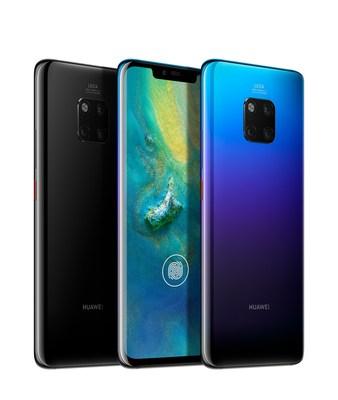 Huawei Mate 20 Series (CNW Group/Huawei)