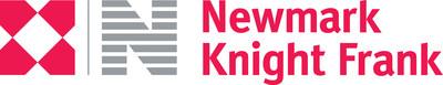 Newmark Knight Frank Logo (PRNewsfoto/Newmark Group, Inc.)