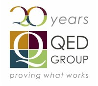 QED Group 20th Anniversary Logo