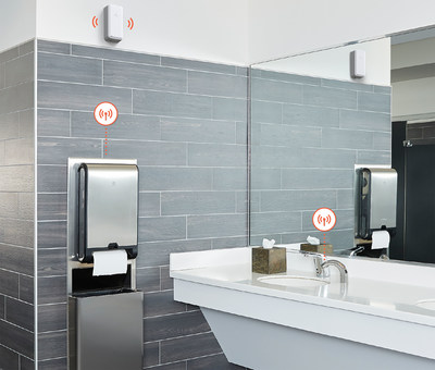 An open architecture enables GP PRO's KOLO™ Smart Monitoring System to integrate with smart devices beyond GP PRO's core product portfolio to provide a more robust and complete connected restroom management solution