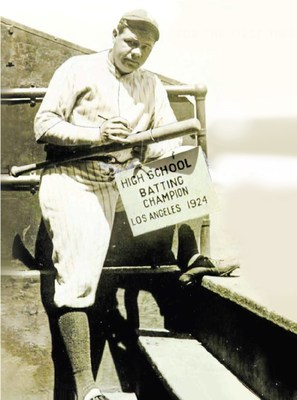 A National Treasure, Babe Ruth's 1924 Home Run Bat, Going to Auction