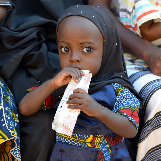 "Since its founding in 2010, over 8 million hungry and malnourished men, women and children in over 50 countries have been fed and sustained by the ""miracle packets"" of nutrition that Edesia produces for export worldwide."
