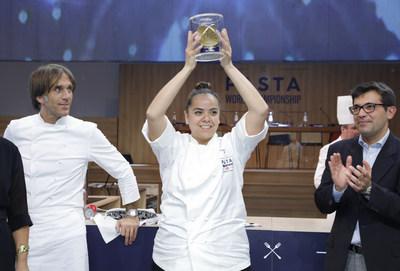 Carolina Diaz wins the 7th edition of the Barilla Pasta World Championship