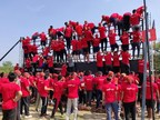 Hoards of participants make the Obstacle Course a Hit (PRNewsfoto/Volano Entertainment Pvt. Ltd)
