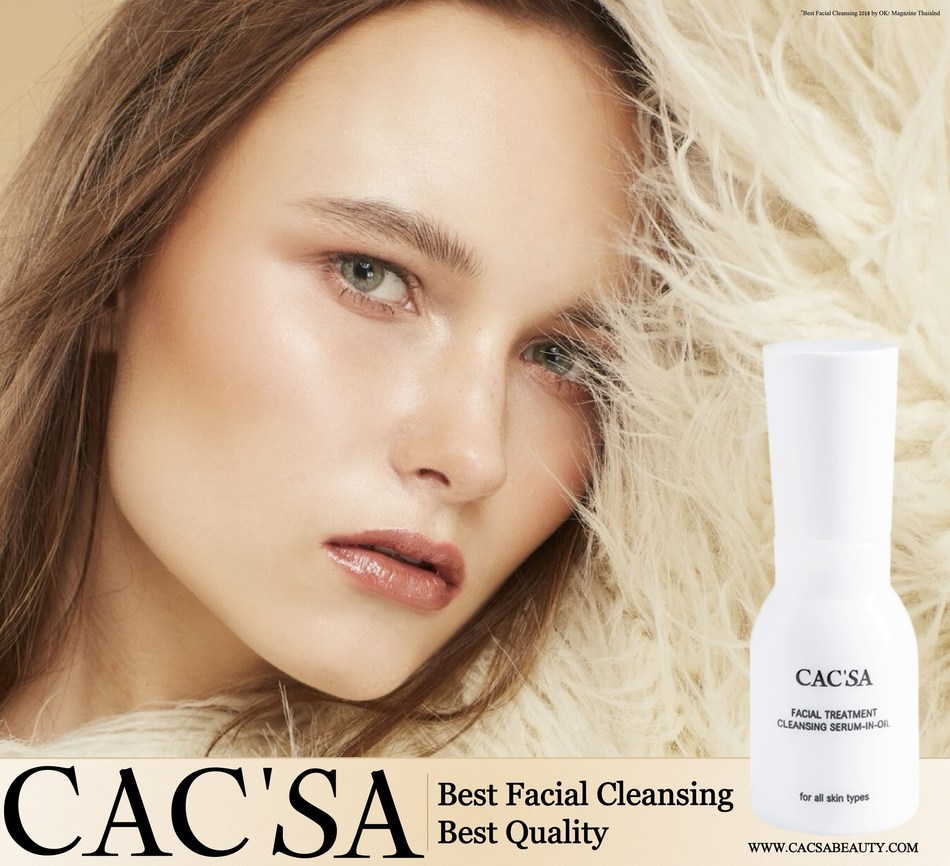 Experience the latest captivating facial cleansing innovation from CAC'SA