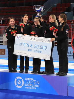 The Russia women's team defeated Switzerland 5-4 and took home a $50,000 USD check