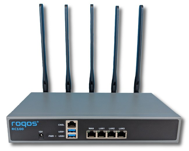 Roqos Core RC100, the first gigabit intrusion prevention router for homes