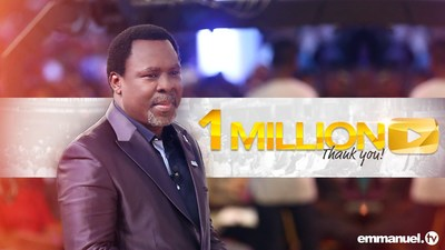 Emmanuel TV - Over 1 Million Subscribers