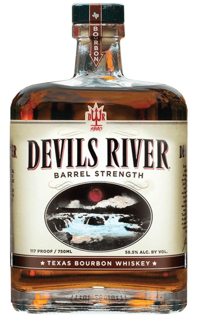Devils River Barrel Strength Whiskey