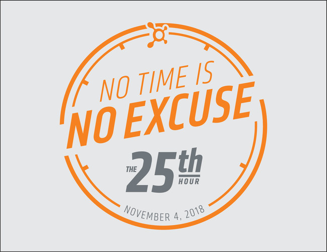 With the clocks turning back to give Americans that extra hour on Nov. 4, Orangetheory is encouraging more life and less excuses. To ensure everyone takes advantage of the extra hour, Orangetheory is offering everyone in the U.S. a free workout this daylight saving. Visit the25thHour.com to learn more and sign up for a free class today!