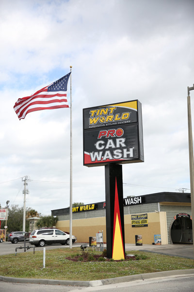 The new Tint World in Stuart, Fla., will service car wash-auto styling center combo will serve Palm Beach, Martin and St. Lucie Counties.