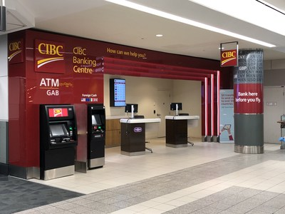 CIBC and Greater Toronto Airports Authority partnering to enhance traveller experience at Toronto Pearson International Airport (CNW Group/Canadian Imperial Bank of Commerce)