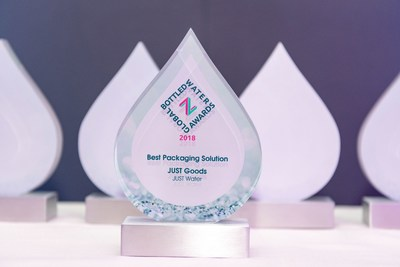 """JUST Water Wins Global ""Best Packaging Solution"" Award With Tetra Pak Carton Bottle"