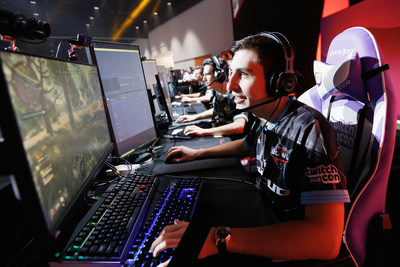 SAN JOSE, CA - OCTOBER 27: Team Shroud competes in Doritos Bowl at TwitchCon 2018 held at San Jose McEnery Convention Center on October 27, 2018 in San Jose, California. (Photo by Kimberly White/Getty Images for Frito-Lay North America)